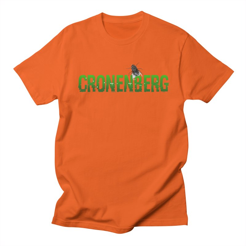 Cronenberg Women's Unisex T-Shirt by Monkeys Fighting Robots' Artist Shop