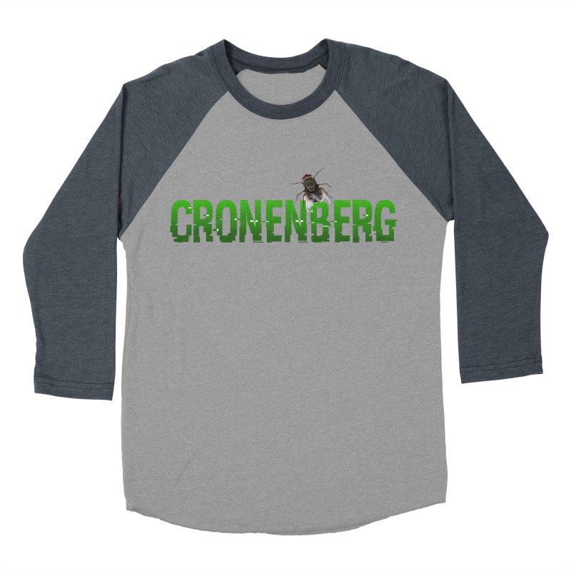 Cronenberg Men's Baseball Triblend T-Shirt by Monkeys Fighting Robots' Artist Shop