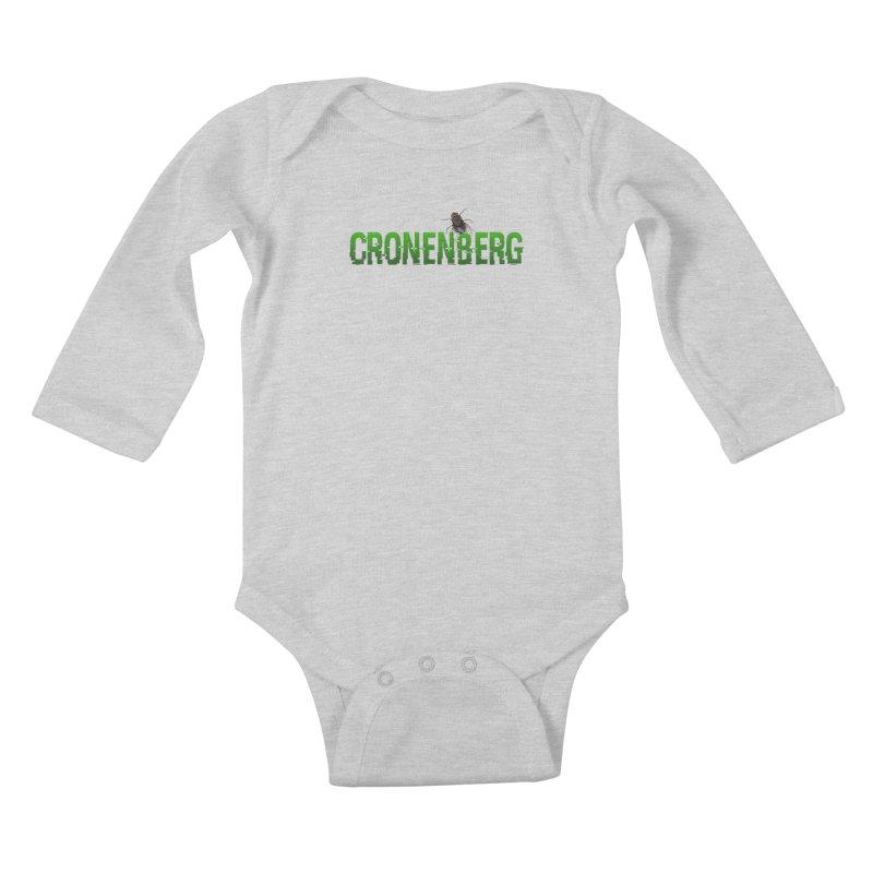 Cronenberg Kids Baby Longsleeve Bodysuit by Monkeys Fighting Robots' Artist Shop