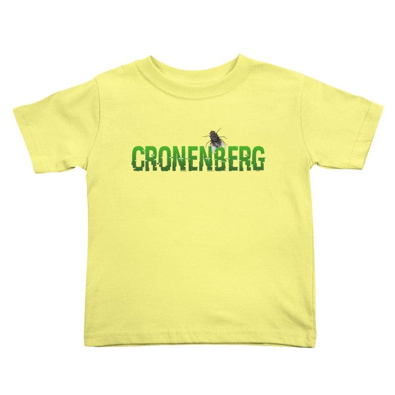 Cronenberg Kids Toddler T-Shirt by Monkeys Fighting Robots' Artist Shop