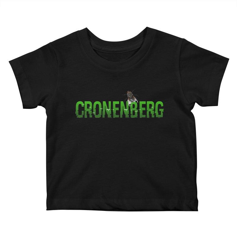 Cronenberg Kids Baby T-Shirt by Monkeys Fighting Robots' Artist Shop
