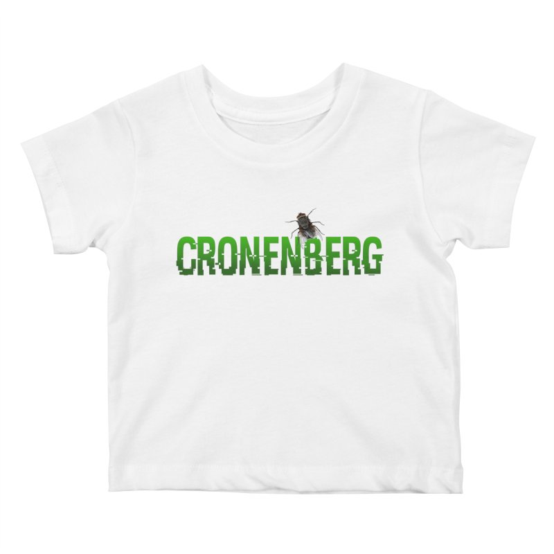 Cronenberg Kids Baby T-Shirt by Monkeys Fighting Robots' Artist Shop