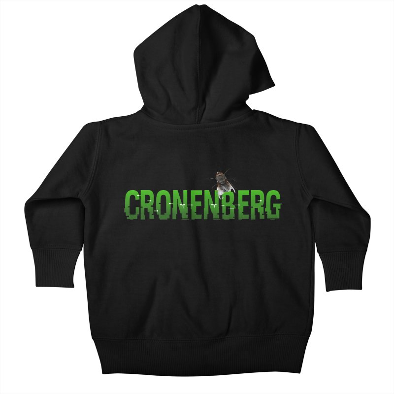 Cronenberg Kids Baby Zip-Up Hoody by Monkeys Fighting Robots' Artist Shop