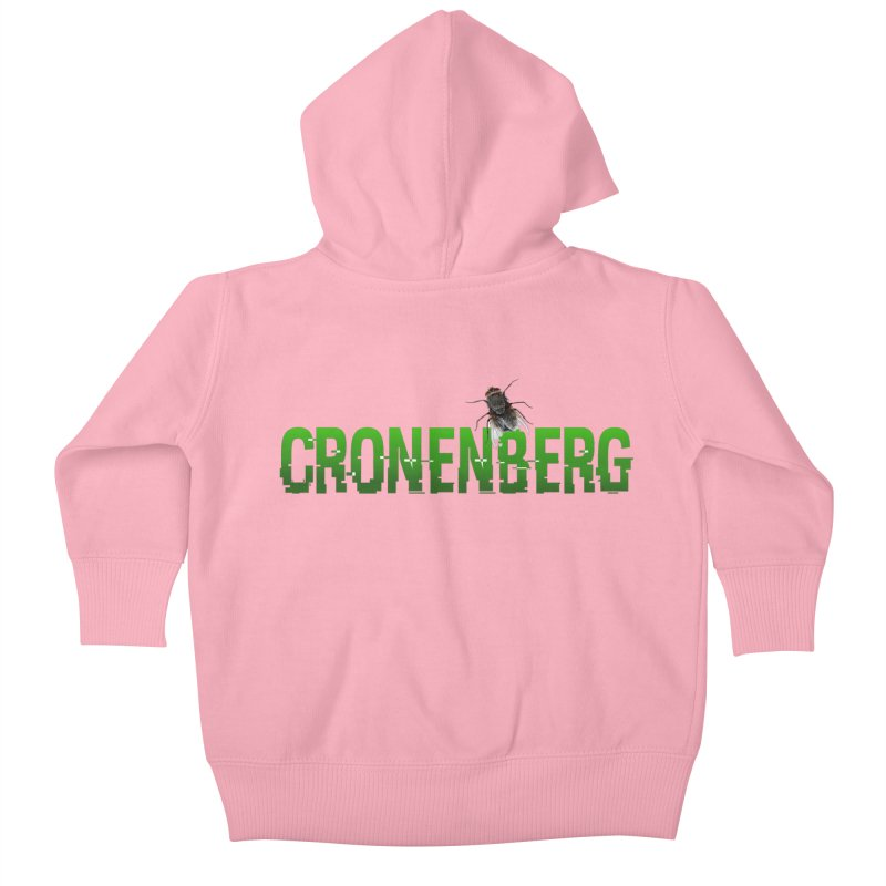 Cronenberg Kids Baby Zip-Up Hoody by Monkeys Fighting Robots' Artist Shop