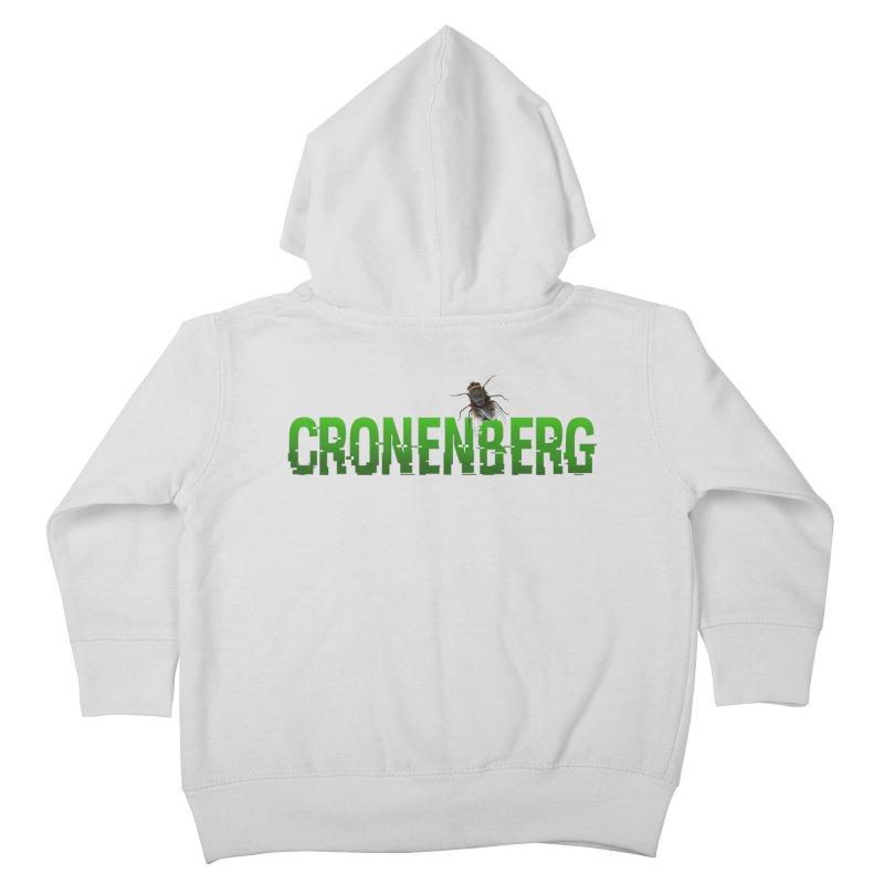 Cronenberg Kids Toddler Zip-Up Hoody by Monkeys Fighting Robots' Artist Shop
