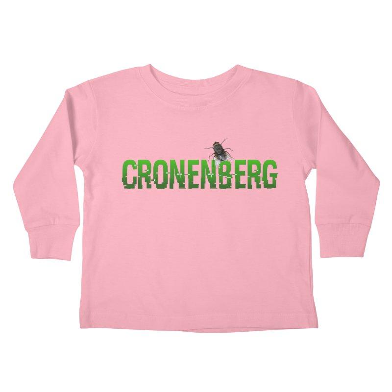 Cronenberg Kids Toddler Longsleeve T-Shirt by Monkeys Fighting Robots' Artist Shop