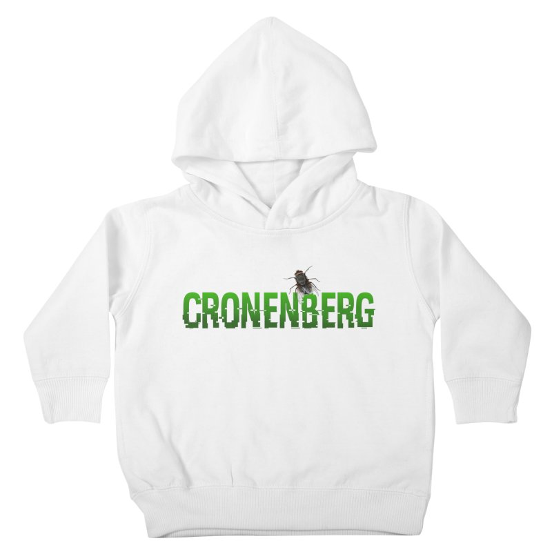 Cronenberg Kids Toddler Pullover Hoody by Monkeys Fighting Robots' Artist Shop