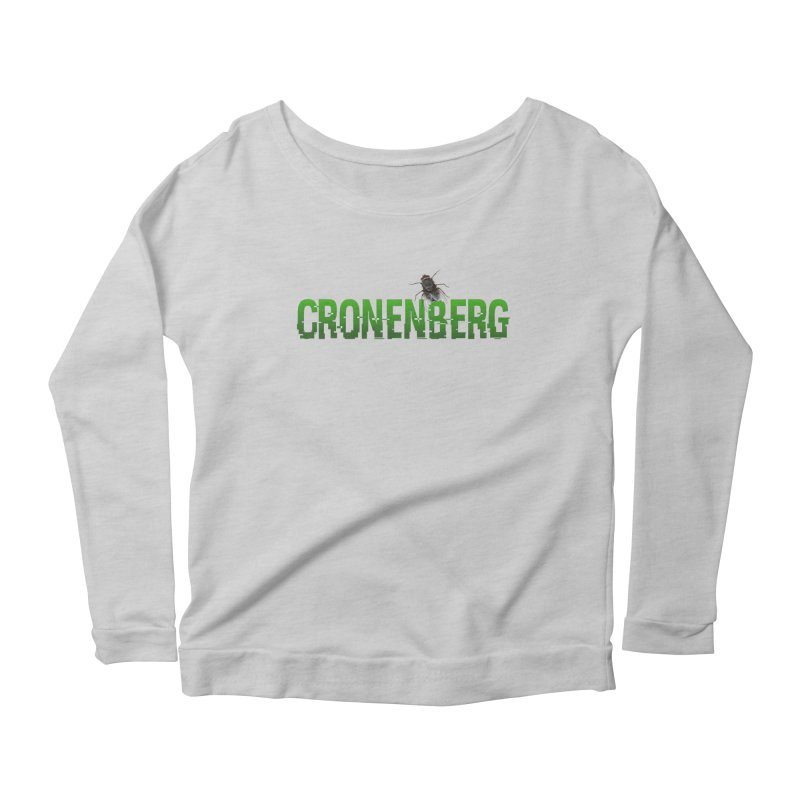 Cronenberg Women's Longsleeve Scoopneck  by Monkeys Fighting Robots' Artist Shop