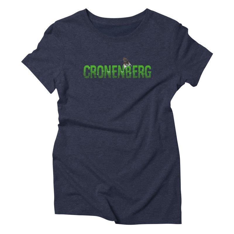 Cronenberg Women's Triblend T-shirt by Monkeys Fighting Robots' Artist Shop