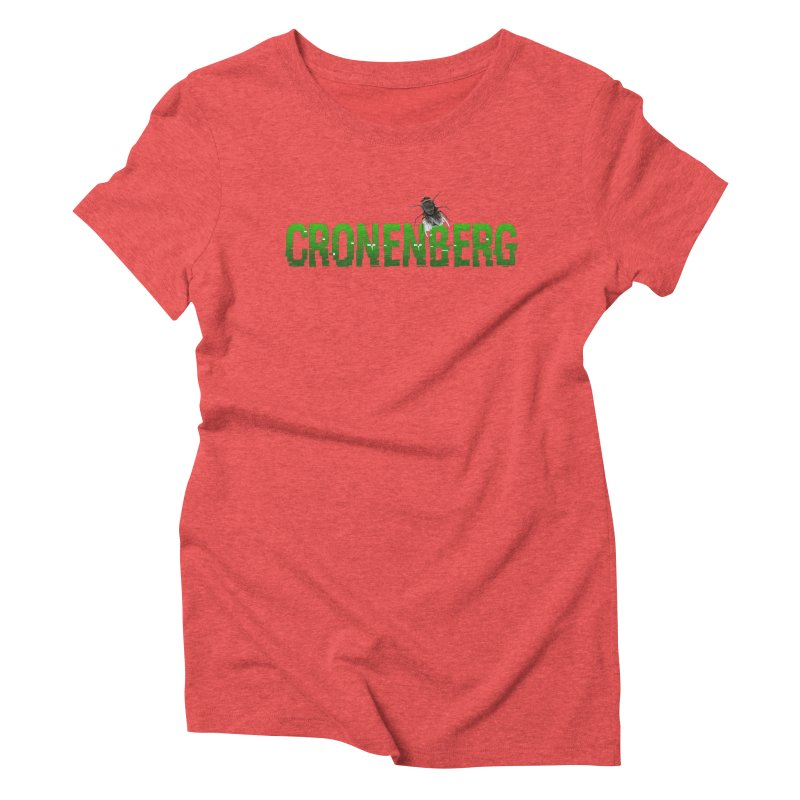 Cronenberg Women's Triblend T-shirt by Monkeys Fighting Robots' Artist Shop