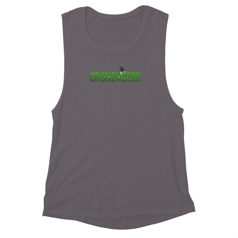 Cronenberg Women's Muscle Tank by Monkeys Fighting Robots' Artist Shop