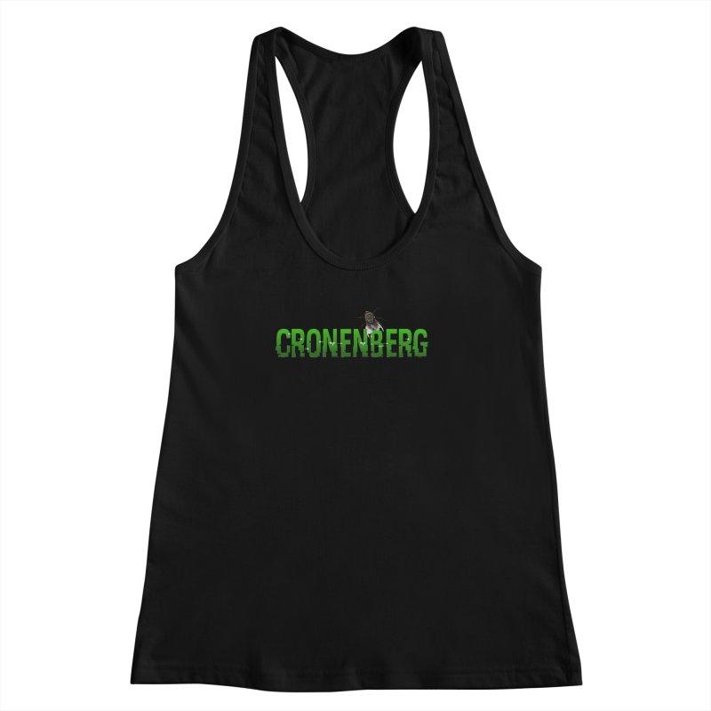 Cronenberg Women's Racerback Tank by Monkeys Fighting Robots' Artist Shop