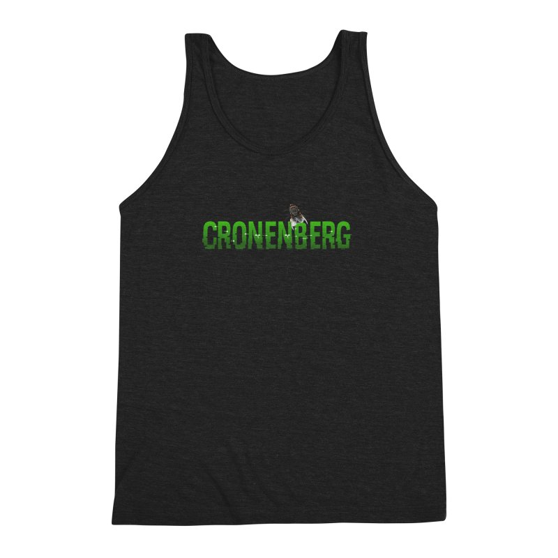 Cronenberg Men's Triblend Tank by Monkeys Fighting Robots' Artist Shop