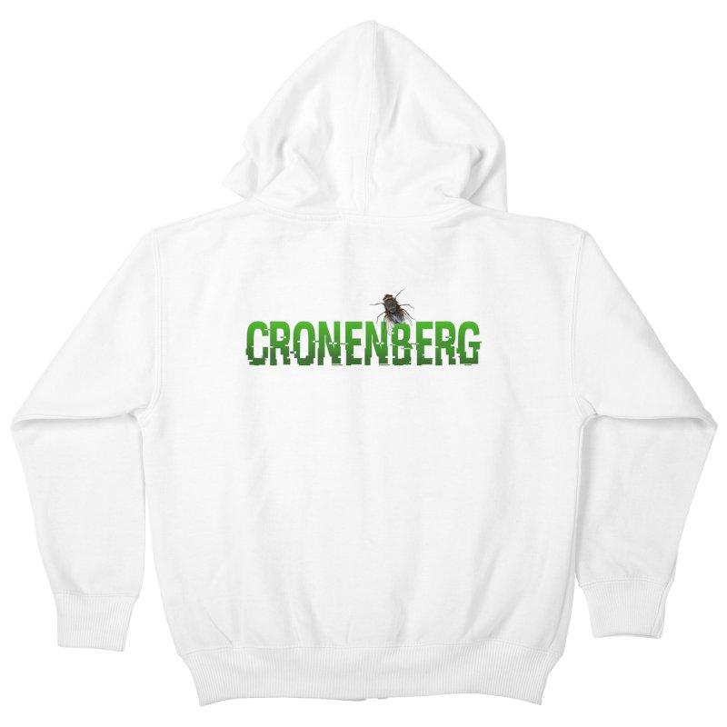 Cronenberg Kids Zip-Up Hoody by Monkeys Fighting Robots' Artist Shop
