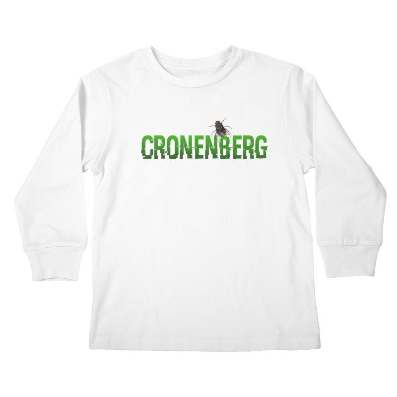 Cronenberg Kids Longsleeve T-Shirt by Monkeys Fighting Robots' Artist Shop