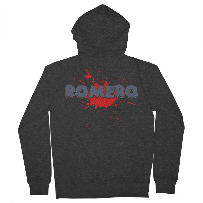 Romero Men's Zip-Up Hoody by Monkeys Fighting Robots' Artist Shop
