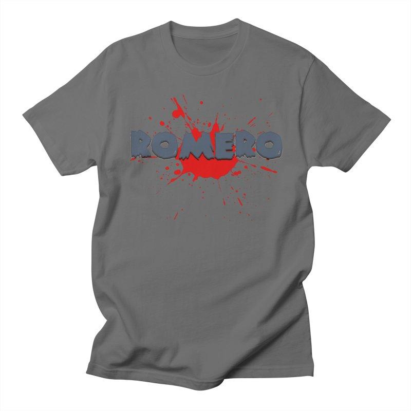 Romero Women's Unisex T-Shirt by Monkeys Fighting Robots' Artist Shop