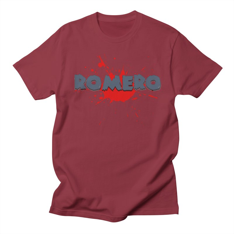 Romero Women's Unisex T-Shirt by Monkeys Fighting Robots' Artist Shop