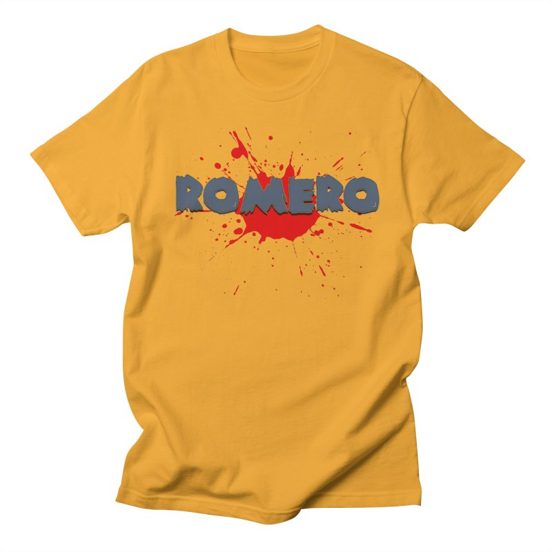 Romero Men's T-Shirt by Monkeys Fighting Robots' Artist Shop