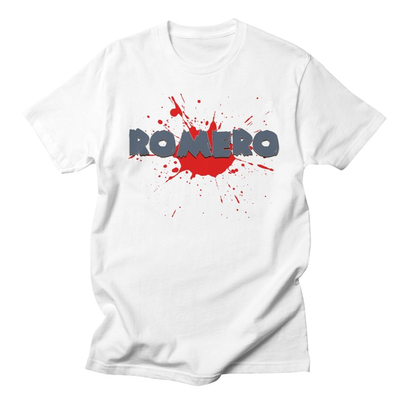 Romero Men's T-shirt by Monkeys Fighting Robots' Artist Shop