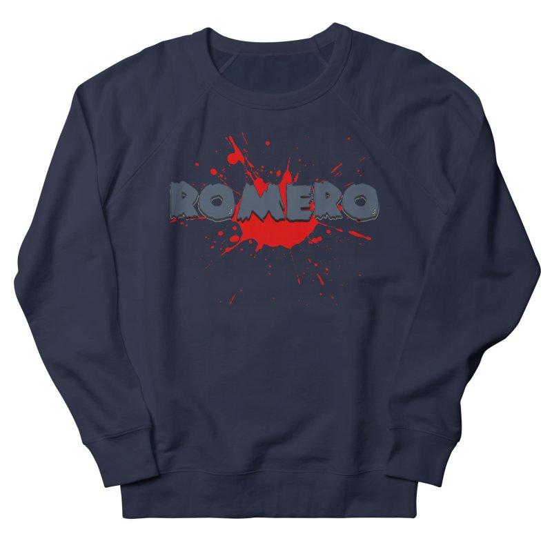 Romero Women's French Terry Sweatshirt by Monkeys Fighting Robots' Artist Shop