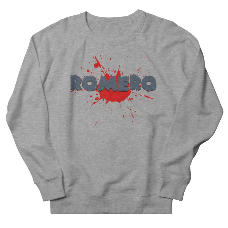 Romero Men's Sweatshirt by Monkeys Fighting Robots' Artist Shop