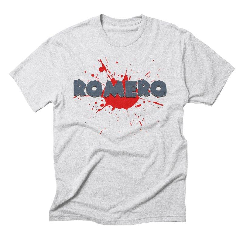Romero Men's Triblend T-Shirt by Monkeys Fighting Robots' Artist Shop