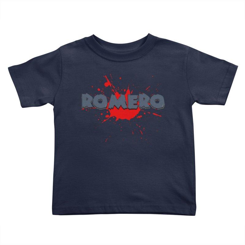 Romero Kids Toddler T-Shirt by Monkeys Fighting Robots' Artist Shop