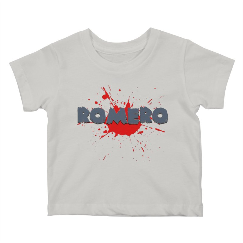 Romero Kids Baby T-Shirt by Monkeys Fighting Robots' Artist Shop