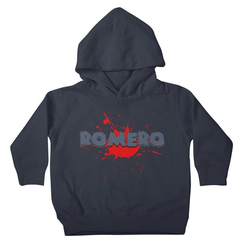 Romero Kids Toddler Pullover Hoody by Monkeys Fighting Robots' Artist Shop