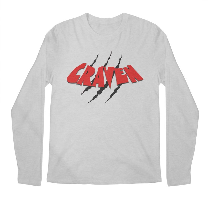 Craven Men's Longsleeve T-Shirt by Monkeys Fighting Robots' Artist Shop