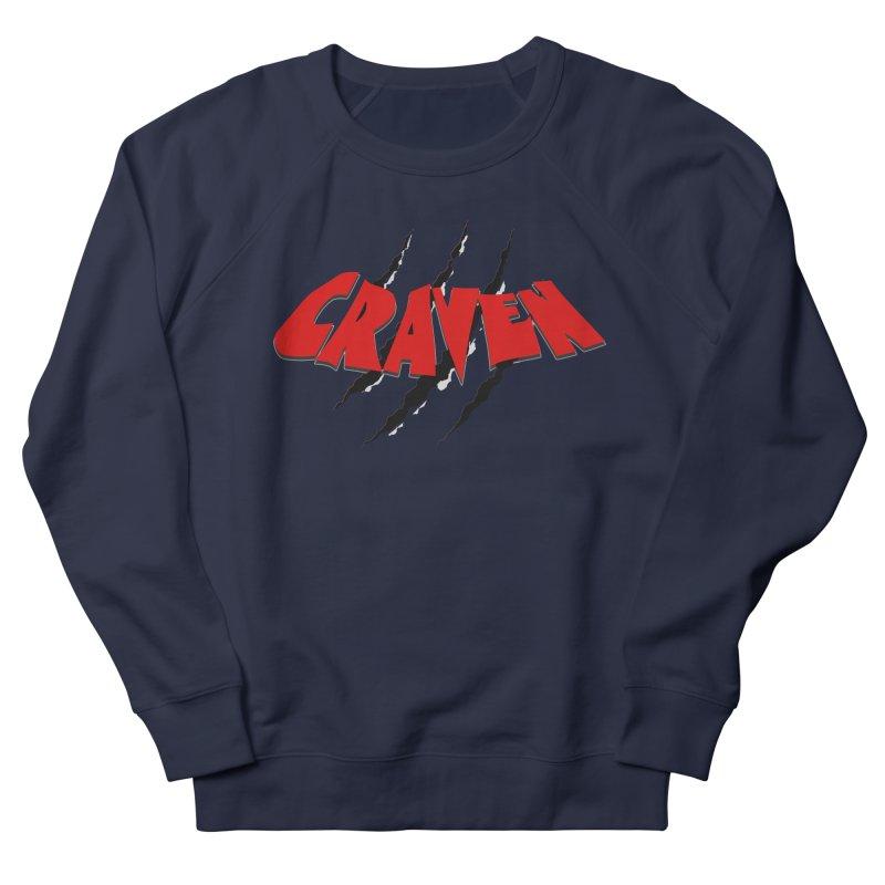 Craven Women's Sweatshirt by Monkeys Fighting Robots' Artist Shop