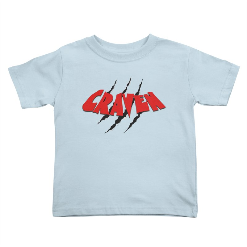 Craven Kids Toddler T-Shirt by Monkeys Fighting Robots' Artist Shop