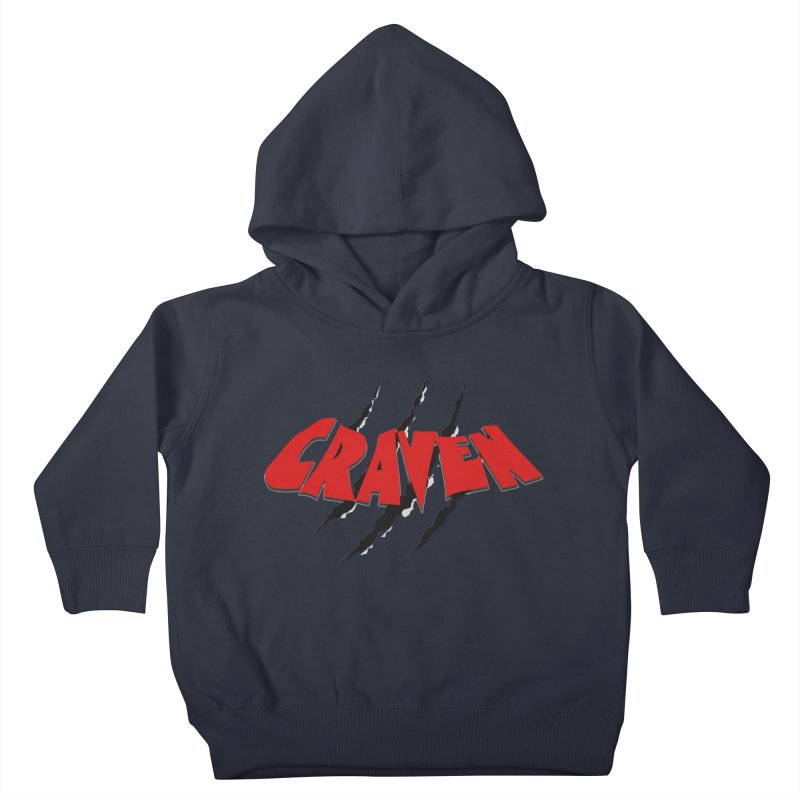 Craven Kids Toddler Pullover Hoody by Monkeys Fighting Robots' Artist Shop