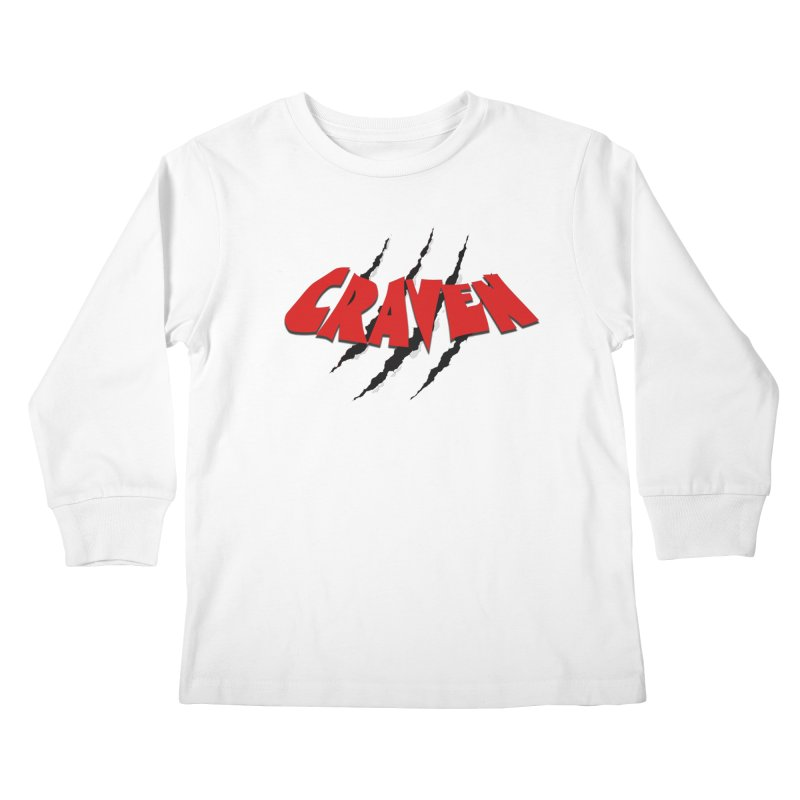 Craven Kids Longsleeve T-Shirt by Monkeys Fighting Robots' Artist Shop