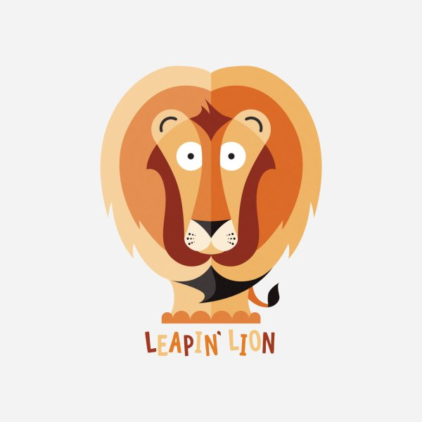 Design for Leapin' Lion