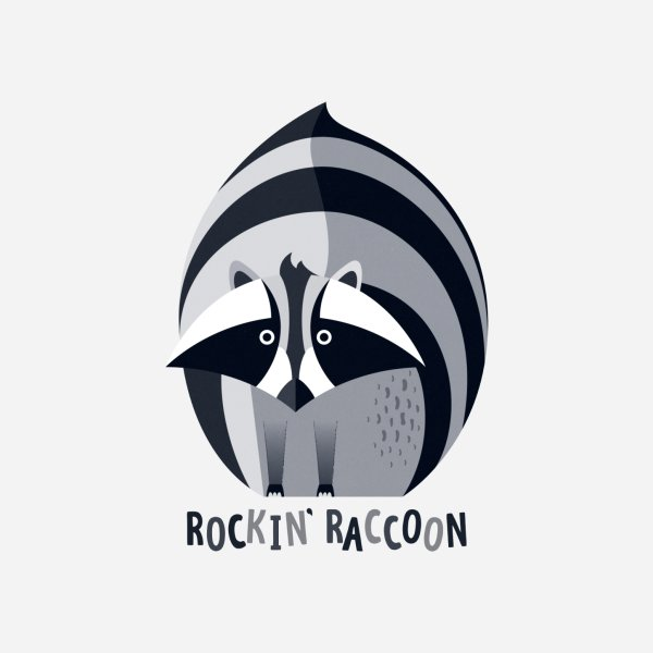 Design for Rockin' Raccoon