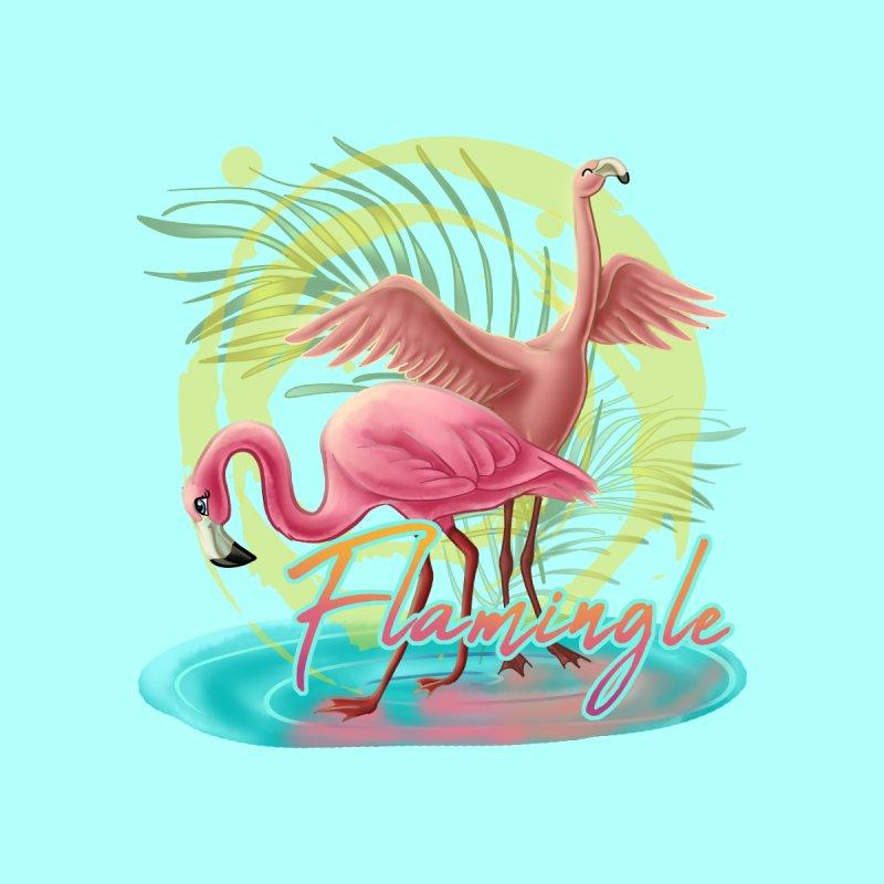 Let's Flamingle by MonocerosArts Shop