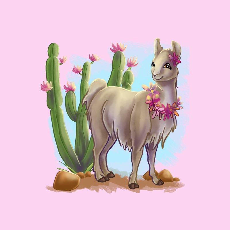 Cactus Llama by MonocerosArts Shop