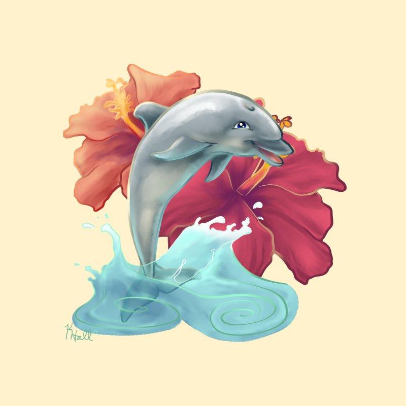 Hibiscus Dolphin by MonocerosArts Shop
