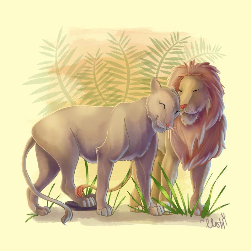 Lion and Lioness by MonocerosArts Shop