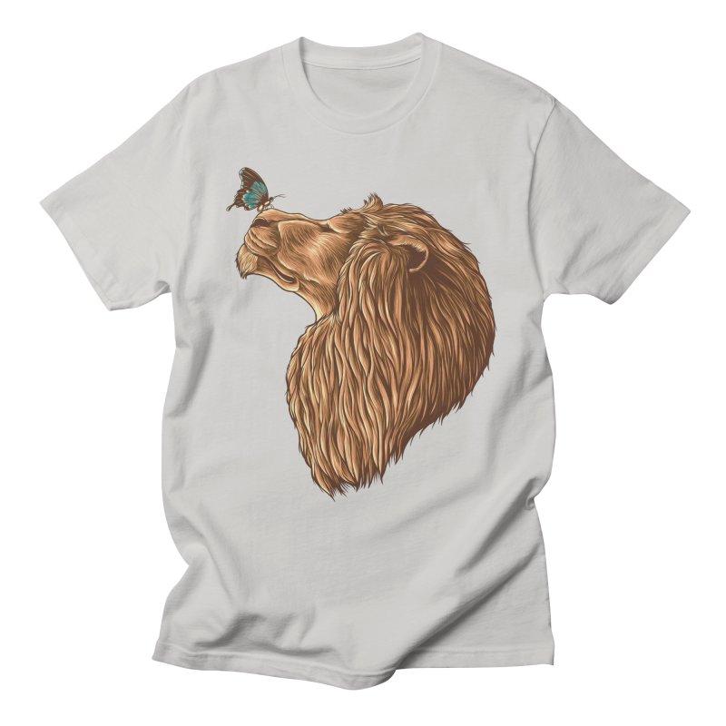 Gentle Man Men's T-Shirt by monochromefrog