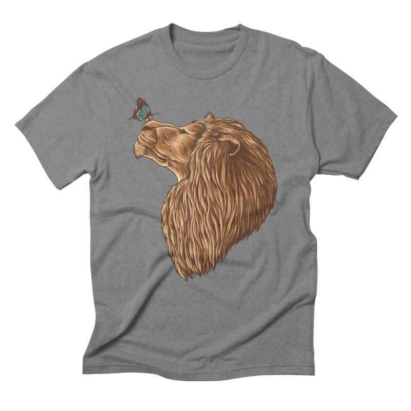 Gentle Man Men's Triblend T-Shirt by monochromefrog