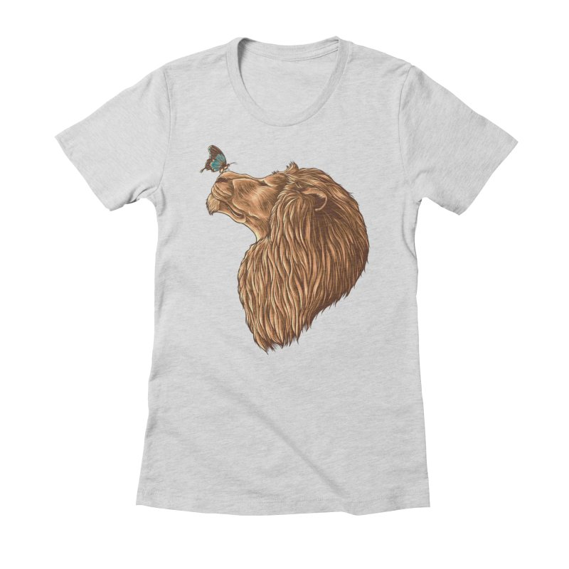 Gentle Man Women's T-Shirt by monochromefrog