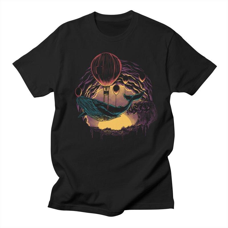 Swift Migration Men's T-Shirt by monochromefrog