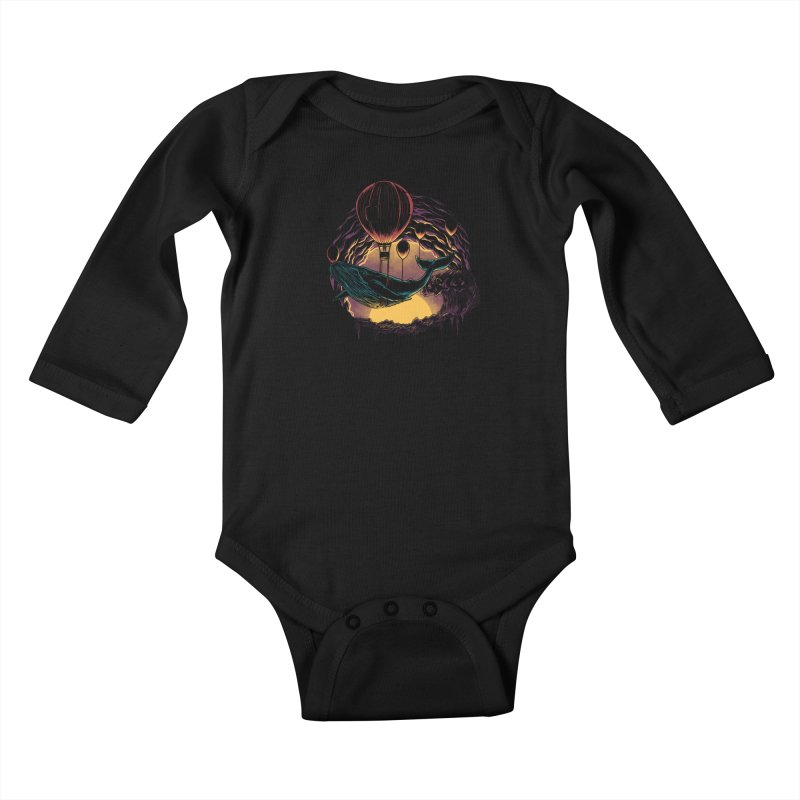 Swift Migration Kids Baby Longsleeve Bodysuit by monochromefrog