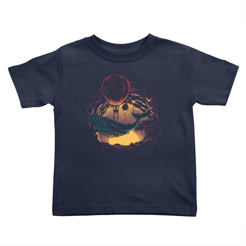 Swift Migration Kids Toddler T-Shirt by monochromefrog