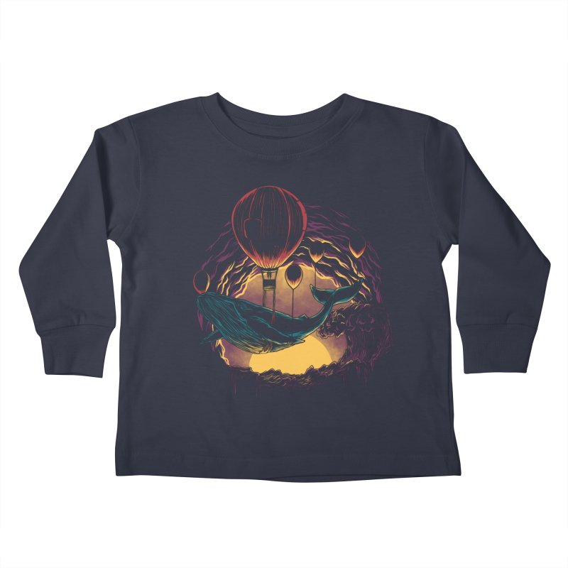 Swift Migration Kids Toddler Longsleeve T-Shirt by monochromefrog