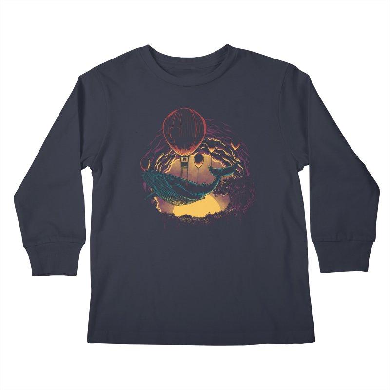 Swift Migration Kids Longsleeve T-Shirt by monochromefrog