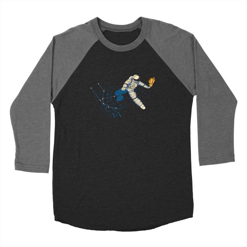 Wild Ride in Space Men's Longsleeve T-Shirt by monochromefrog
